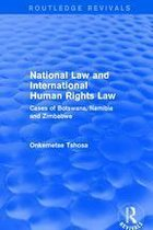 Omslag National Law and International Human Rights Law