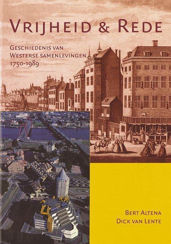 Boek cover Vrijheid en rede van Bert Altena (Paperback)