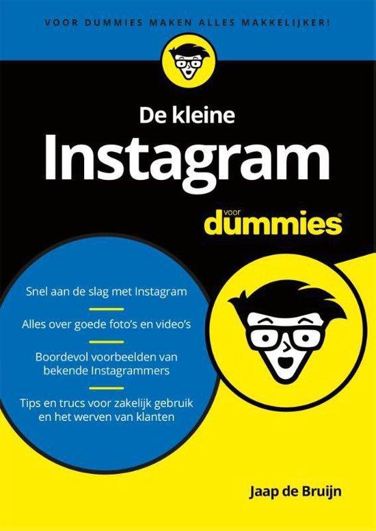De kleine Instagram voor dummies - Jaap de Bruijn |