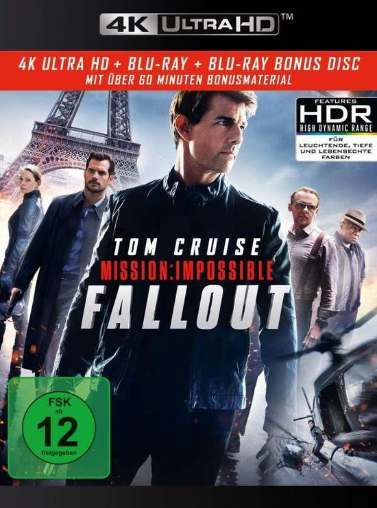 Mission: Impossible 6 - Fallout (Ultra HD Blu-ray & Blu-ray)