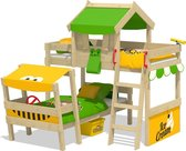 Kinderbed WICKEY CrAzY Trunky Stapelbed Groen
