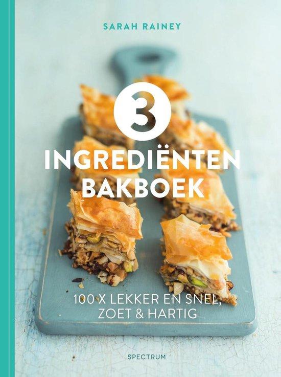 3 ingrediënten bakboek - Sarah Rainey   Readingchampions.org.uk