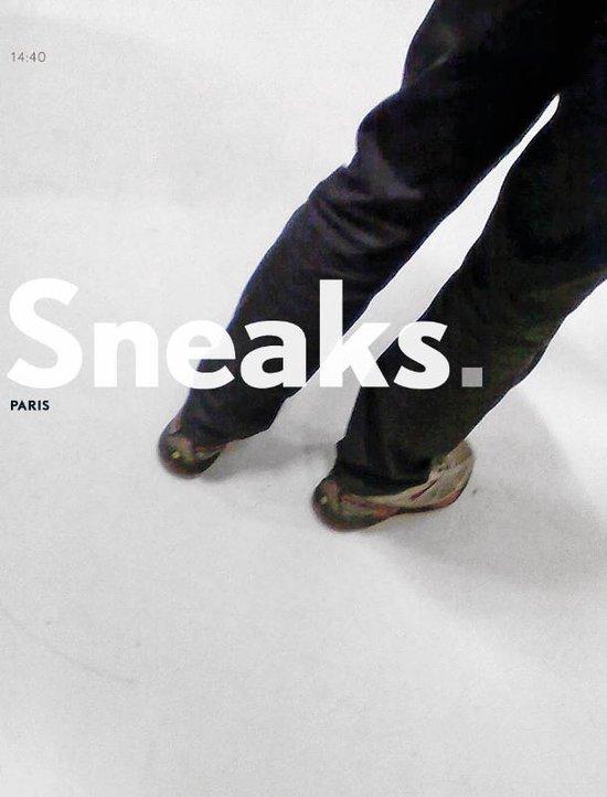 Sneaks. Paris