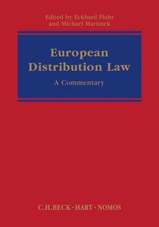 Afbeelding van European Distribution Law