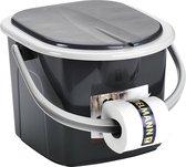Branq Toiletemmer Draagbaar met Deksel - 15,5L - A