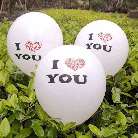 Ballonnen Love Hearts 8 stuks 30 cm