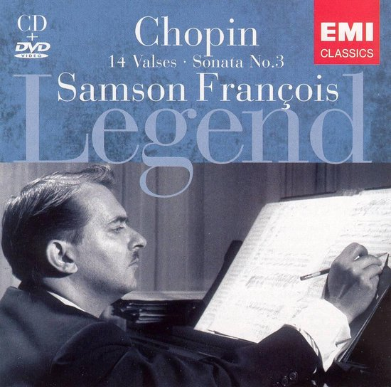 Legend: Samson François [CD & DVD]