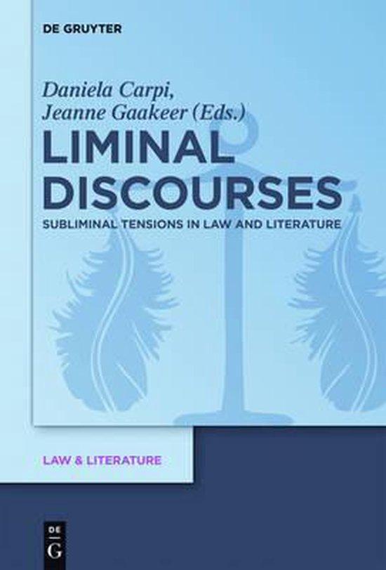 Boek cover Liminal Discourses van  (Hardcover)