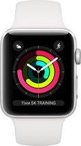 Apple Watch Series 3 - Smartwatch - 42mm - Zilver/Wit
