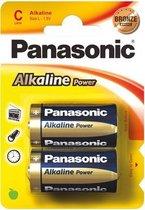LR14 2-BL Panasonic Alkaline Power Alkaline 1.5V niet-oplaadbare batterij - Type C