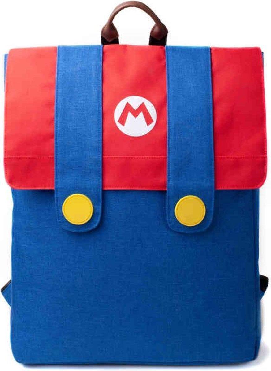 Rugzak Super Mario 21 Liter Rood/blauw