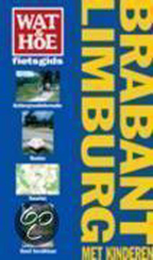 Cover van het boek 'Fietsen met kinderen in Brabant en Limburg'