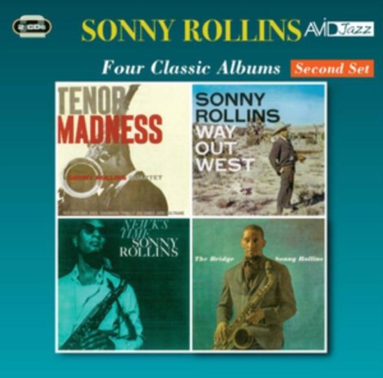 Four Classic Albums: Tenor Madness/Way Out West/Newk's Time/The Bridge