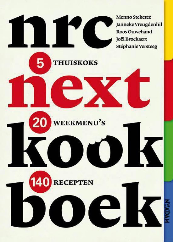 nrc next kookboek - Janneke Vreugdenhil |