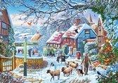 Gibsons puzzel A Winter Stroll - 1000 stukjes