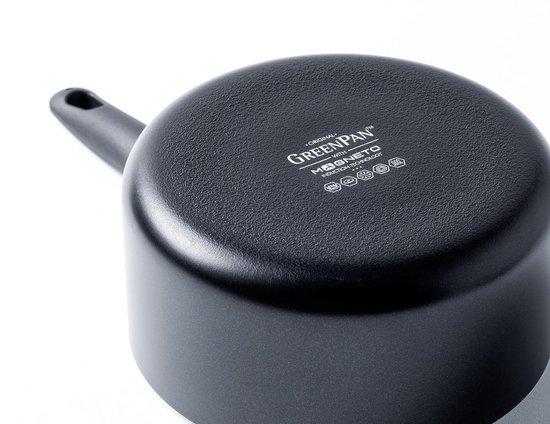 GreenPan Cambridge Keramische Steelpan - Ø16 cm - Inductie