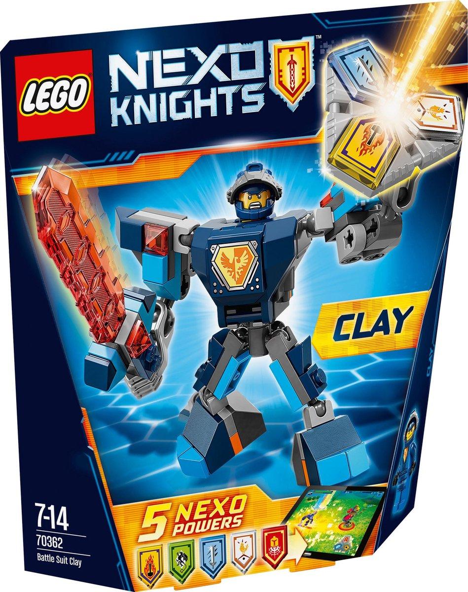 LEGO Nexo Knights Strijdharnas Clay - 70362