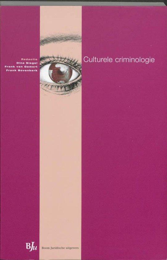 Culturele criminologie - none |