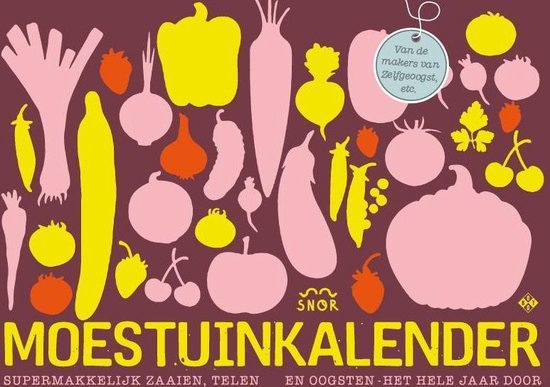 De moestuinkalender - Annemarieke Piers |