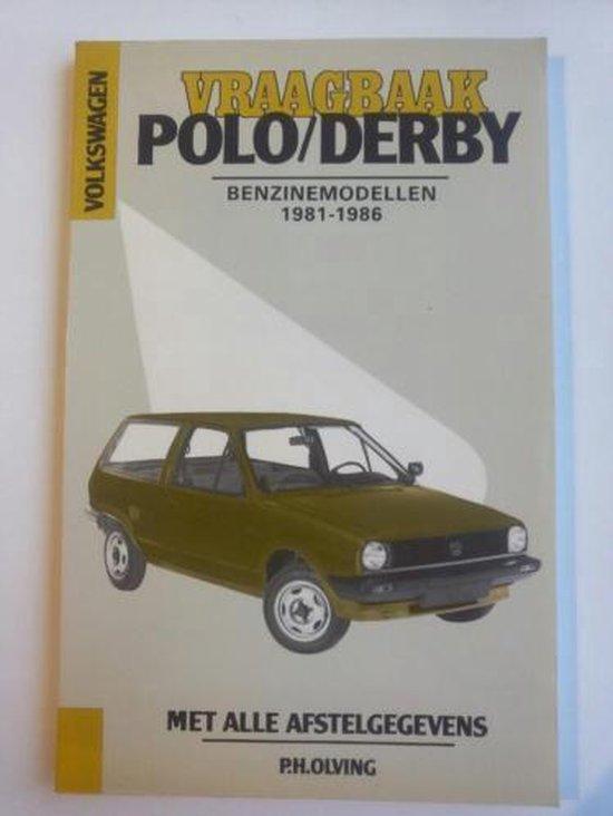 VW POLO/DERBY BENZINE 1981-1986 - Olving |