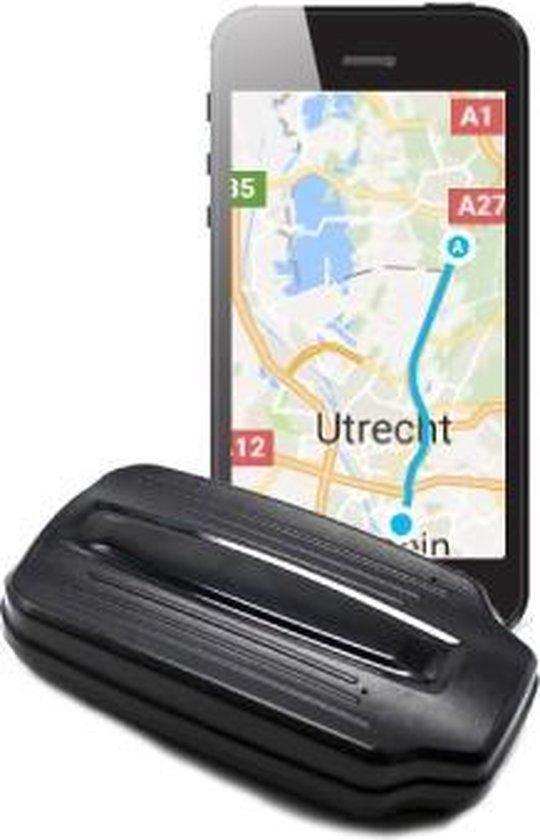 Heavy Duty Magneet GPS Tracker Globaltrace G950 met 90 dagen accuduur - Live volgen of tot 90 dagen terugkijken - Auto / Motor / Boot