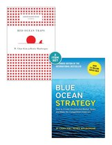 Blue Ocean Strategy with Harvard Business Review Classic Article Red Ocean Traps (2 Books)