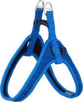 Rogz Fast Fit Tuig Blauw - Hondenharnas - 47 cm
