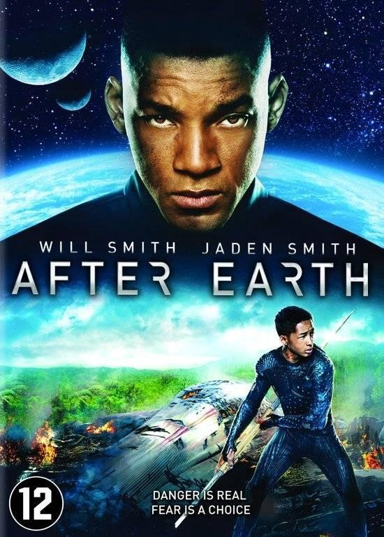 Cover van de film 'After Earth'