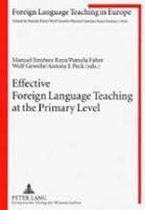 Effective Foreign Language Teaching at the Primary Level