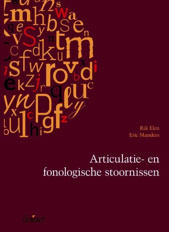 Articulatie en fonologische stoornissen - Rik Elen |