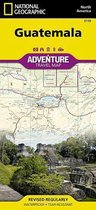 National Geographic Adventure Travel Map Guatemala