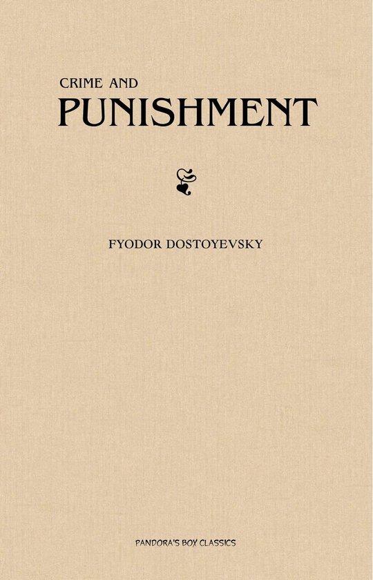 Boek cover Crime And Punishment van Fyodor Dostoyevsky (Onbekend)