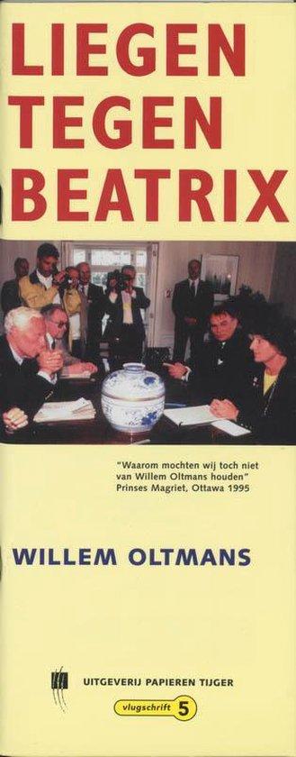 Cover van het boek 'Liegen tegen Beatrix'