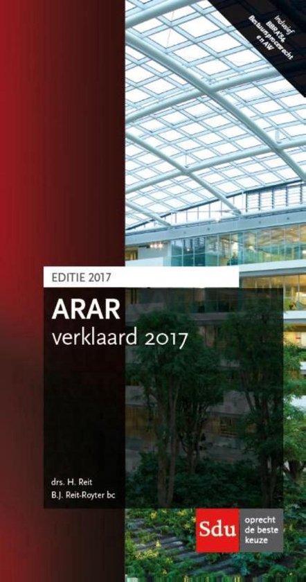 Arar verklaard 2016-2017 - H. Reit  