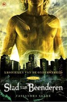 Boek cover Kronieken van de Onderwereld 1 -   Stad van beenderen van Cassandra Clare