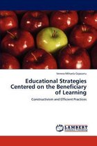 Omslag Educational Strategies Centered on the Beneficiary of Learning