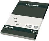 Gekleurd Papier A4 160gr FP Zwart 50vel