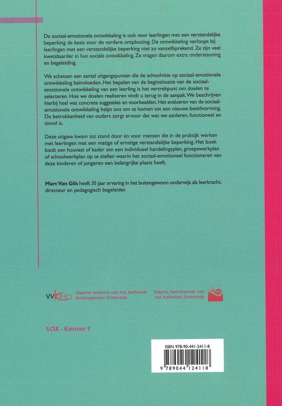 Sociaal-Emotionele Ontwikkeling Van Leerlingen Met Een Matige En Ernstige Verstandelijke Beperking - Marc van Gils | Fthsonline.com