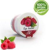 Lippen Balsem Framboos 100% Natural - Hydrateert, Voedt & Verzorgt - 30ml