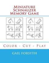 Miniature Schnauzer Memory Game