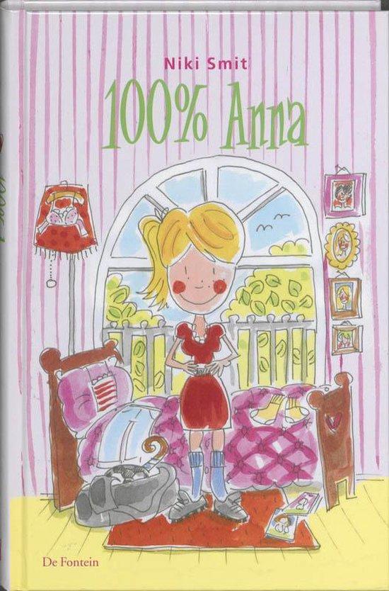 Cover van het boek '100% Anna + veter' van Niki Smit en Niki Smit