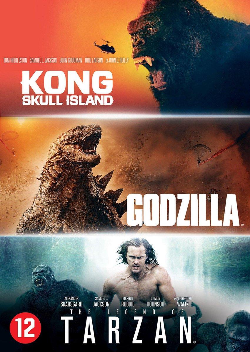 Godzilla + Kong+ Tarzan Box - Movie