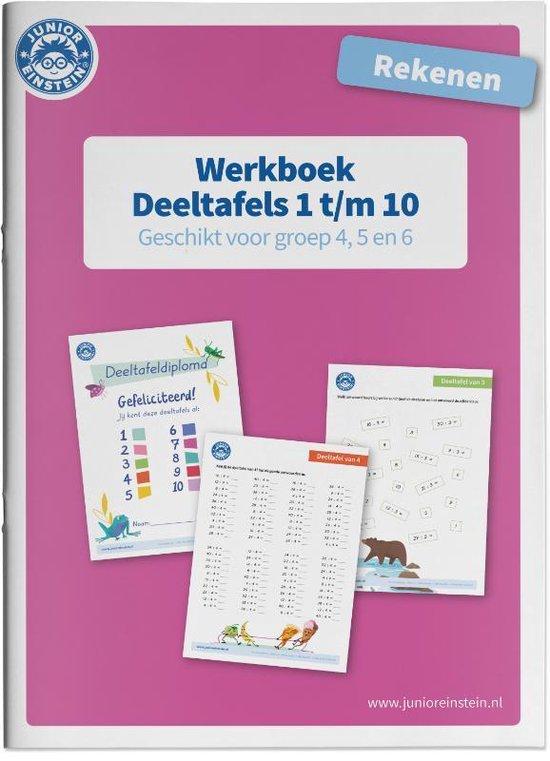 Deeltafels 1 t/m 10 rekenen geschikt voor groep 4, 5 en 6 Werkboek - none |