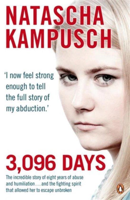 Boek cover 3,096 Days van Natascha Kampusch (Paperback)