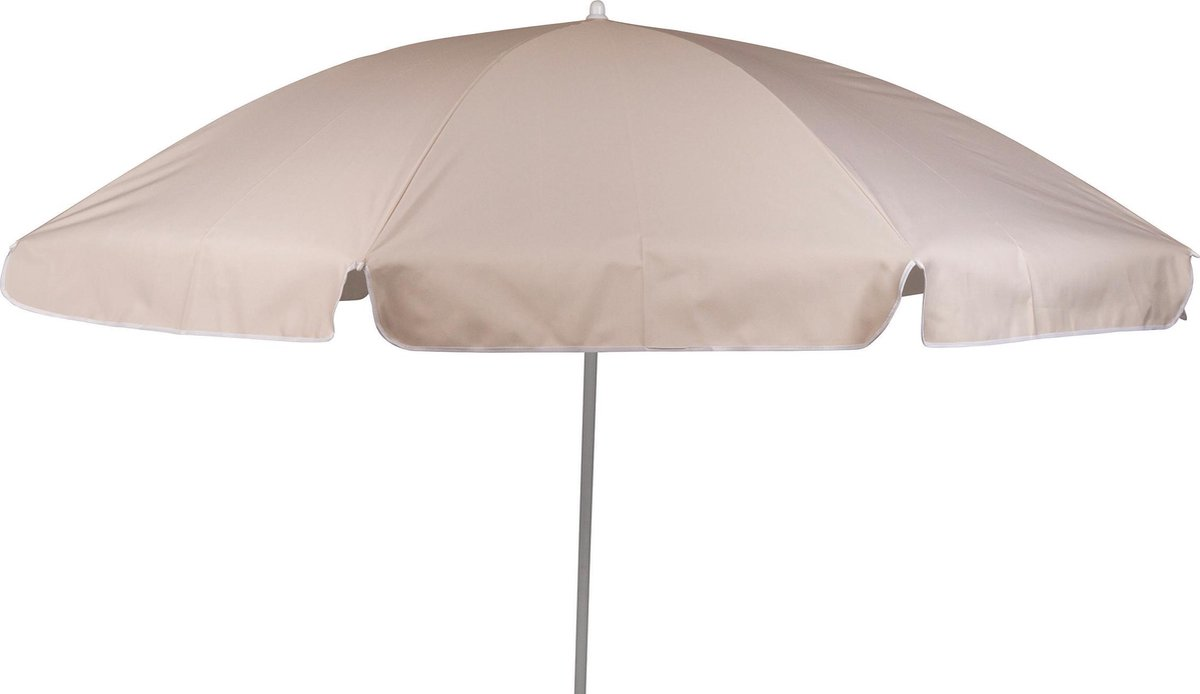 Bo-Camp Parasol Met Knikarm -   200 Cm - Sand