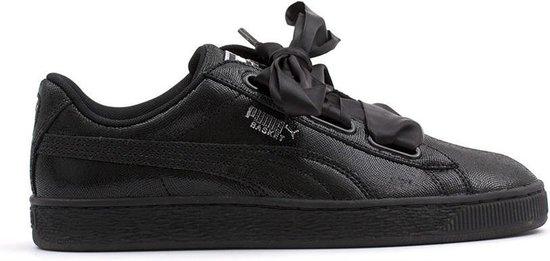 bol.com | Puma - Dames Sneakers Basket Heart NS Wn's - Zwart ...