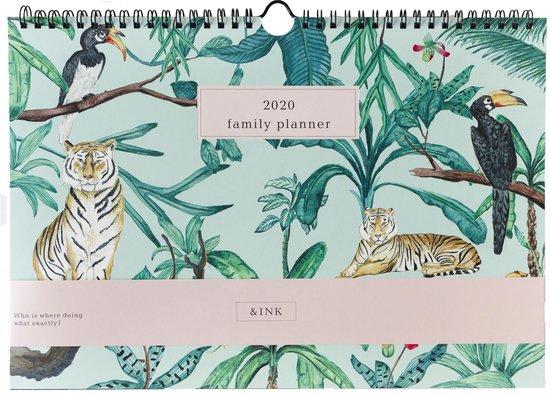 Afbeelding van &INK Familyplanner 2020