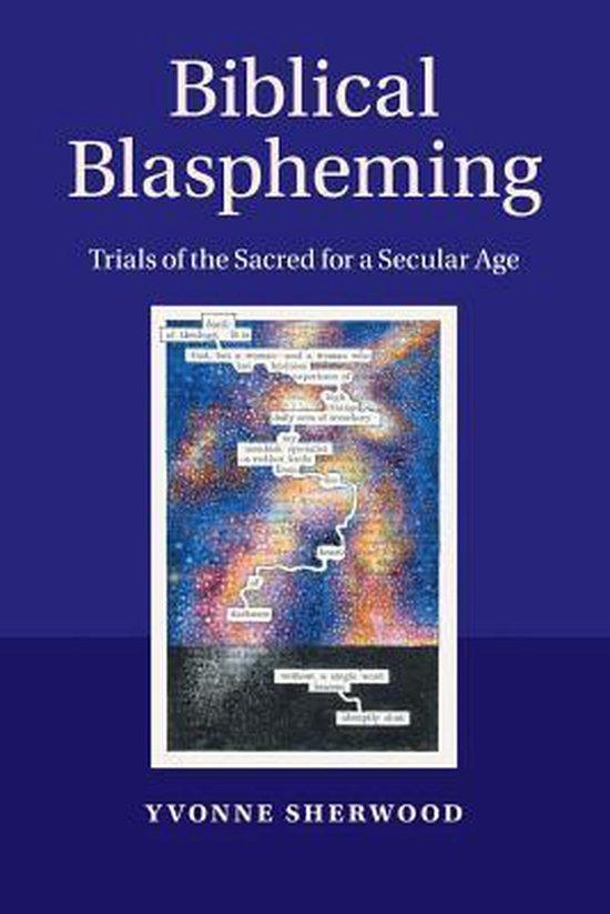 Boek cover Biblical Blaspheming van Yvonne Sherwood (Paperback)