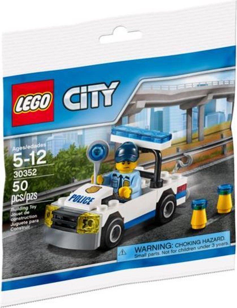 LEGO City politiewagen 30352