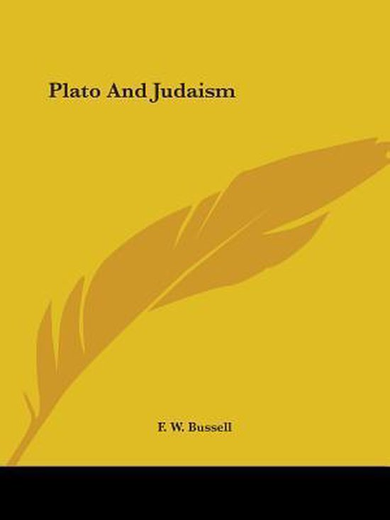 Plato and Judaism